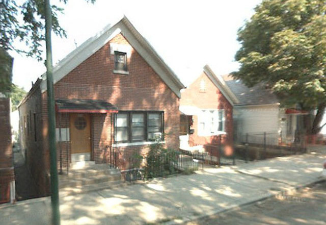 The house in the 2900 block of South Quinn St. on the south side of Chicago where the feds nabbed Anarchaos